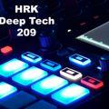 Deep Tech/Minimal Set No 209 - HRK - DJ Herr Kaleun - live !