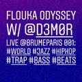 Flouka Odyssey 04 LIVE  w/ DEMOR : Ethio-Jazz, Koto Beats, Baile Trap, French Rap, Turkish Psych