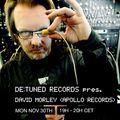 De:Tuned presents David Morley (Apollo Records, Ursa Major) at WAV | 30-11-20