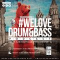 DJ 007 - We Love Drum & Bass Podcast #278 Live At Alibi Nightclub @ Moscow (Part 1)