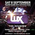 Dj. Mario live @ Glow Club -LUX Reunion on 08.09.2018