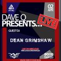 Dave Q Presents... LIVE with Dean Grimshaw - 2nd April 2021