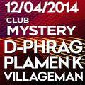 Villageman Live @ Mystery Club 14.04.14
