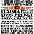 Fexomat@TERROR's 2nd Birthday [Studio24_Edinburgh] 2012