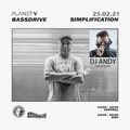PLANET V RADIO ON BASSDRIVE WITH SIMPLIFICATION AND GUEST DJ ANDY FEB 2021