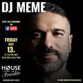 DJ Meme Live at House of Frankie HQ Milan