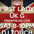 DJ TOUCH JANUARY 2014 PODCAST FEMININE PRESSURE SHOW SAT 8-10 WWW.FREEKFMLIVE.COM