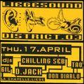 """D-Jack at """"Liegesound District.03"""" @ La Chapelle (Liège - Belgium) - 17 April 1997"""