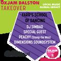 Oxjam Dalston Takeover x Peachy Exclusive Mix