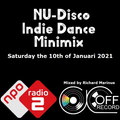 NU-Disco Minimix - the 10th of Januari 2021 - on NPO Radio 2 - in the Soulnight - Mixed by Richard M