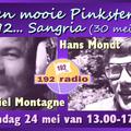 192 Radio Nederland Sangria 'live Vanaf De Norderney' - Chiel Montagne Hans Mondt  13-17 uur