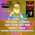 DJF HOUSE FREqUENCY SHOW@THE WORKS EXPERIENCE WITH SPECIAL GUEST NICK HOOK JEEPERS! MUSIC 27.04.21