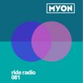 Ride Radio 081 with Myon