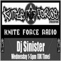 Dj-Sinister - Knite Flash Show - Live on Kniteforce Radio - 24-06-2020
