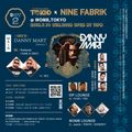 Tokio 03 SUMMER WEEKEND -DAY 2- Tokio × NINE FABRIK @WOMB, TOKYO ::Pairbrick