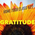 Gratitude Class for Sunday live stream