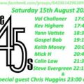 The 45s On-Liner 15th August 2020 Colin Law's set.