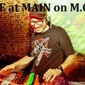 LIVE at MAIN on M.O.D. DJ Vintage Mixtape - Enero 2016