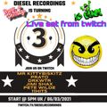 Diesel Turns 3 (Birthday set) - by Dj Pease - Live on from Twitch