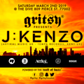 J:Kenzo live @ Gritsy, Houston - 2nd March 2019