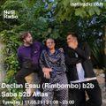 Declan Essau b2b Atlas b2b Saba - 11th May 2021