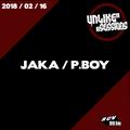 Unlike Sessions - 2018-02-16 - Jaka / P.Boy