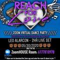 REACH FOR LOVE - LEO ALARCON 2HR LIVE SET. 05/30/2020