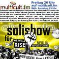 multicult.fm ALANDALA Solishow für Refugee Strike Berlin (feat. Wardita)