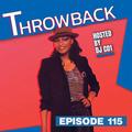Throwback Radio #115 - Dirty Lou (Freestyle Mix)