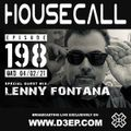 Housecall EP#198 (04/02/21) incl. a guest mix from Lenny Fontana