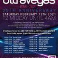 Ultra Vegas 25th Birthday Set 13/02/21