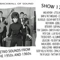 TH BACKWALL OF SOUND RETRO SOUNDS FROM THE 1950s AND 1960s- SHOW 179