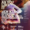 Titonton Duvante Live DJ Mix -AYLI w- Ben Klock & Efdemin