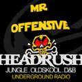 Offensive Live on Headrush Radio 22nd Dec14