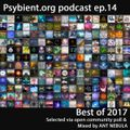 psybient.org podcast - episode 14 - Best of 2017 mixed by Ant Nebula