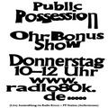 Public Possession Ohr Bonus Show Nr. 12