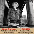 #094 Draw The Line Radio Show 31-03-2020 with guest mix 2nd hour by Puls'em