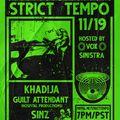 Strict Tempo 11.19.2020 (Work The Devil)