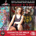 Teknacolor Ninja | 2017 EMM | WKDU 91.7fm