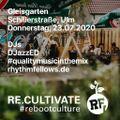 Gleisgarten 23.07.2020 - Funky & jazzy electrified breaks - presented by RhythmFellows