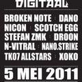 Stefan ZMK @ Kabaal Digitaal - Bevrijdingsfestival 2011 [tekno core breaks]