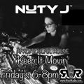 Nuty J Afro Soulful House Special on Rise1Radio.com 06.11.2020