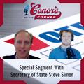 Conor's Corner – special segment with Secretary of State Steve Simon