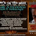 Hard Rock Hell Radio - Heavy Rock Rapture -  Feb 13 2018 feat Norwegians Magick Touch