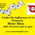 28th Nov Journey through music with Marc Man