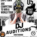 Soundwave World tour auditions in Cape Town