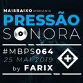 Pressão Sonora - 25-05-2019