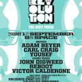 REBOOT - LIVE FROM CARL COX MUSIC IS REVOLUTION AT SPACE IBIZA - 1ST SEPTEMBER 2015 - IBIZA SONICA