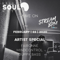 The Bright Soul Music Show Live On StreamBPM - Artist Special February 22nd 2020
