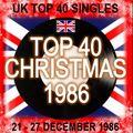 UK TOP 40 21-27 DECEMBER 1986